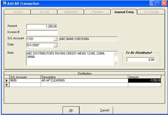 Supplier Sending A Check For A Credit Memo - Send invoice to customer journal entry